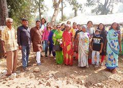 श्रिजन जनकल्याण ने आदिवासी बाहुल्य क्षेत्र में दीपावली पर विविध कार्यक्रम किया