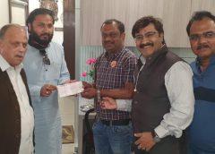 बस्तर के महाराज बाबा श्री कमल चंद्र भंजदेव जी द्वारा दानदाताओं से निधि समर्पण का किया आग्रह